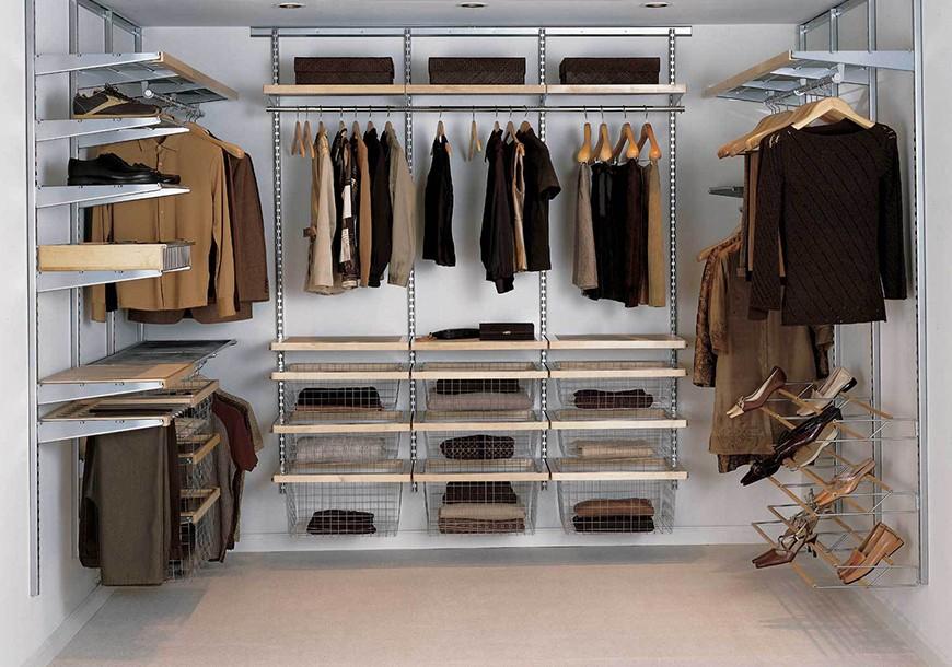 Проектирование и установка гардеробных систем